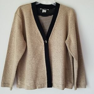 Knit 2fer Sweater Top